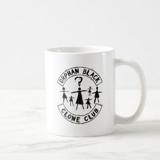 Taza De Café Figura huérfana club del palillo del negro el | de
