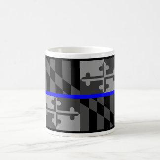 TAZA DE CAFÉ FINA DE LA BANDERA DEL ESTADO DE BLUE