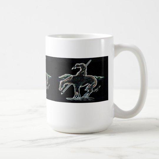 Taza De Café Final del resplandor 2 del rastro
