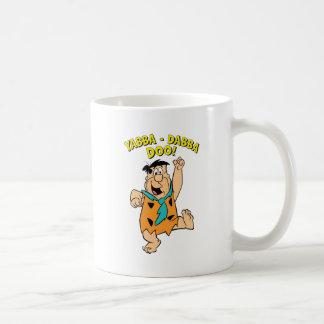 Taza De Café ¡Flintstone Yabba-Dabba Doo de Fred!