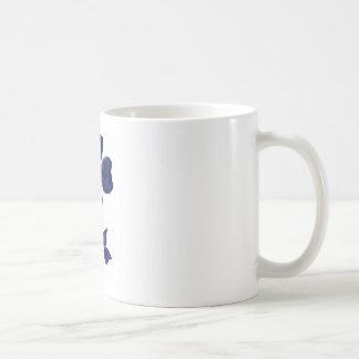 Taza De Café Flor azul