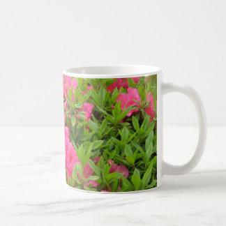 Taza De Café Flor rosada de la primavera del rododendro