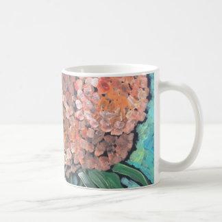 Taza De Café Floraciones del melocotón