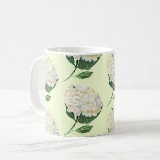 Taza De Café Floraciones grandes florales de la primavera