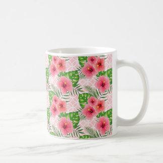 Taza De Café Flores del hibisco