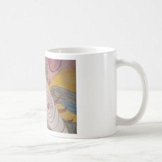 Taza De Café Flotación en el vacío del arco iris