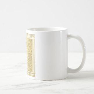 Taza De Café Fondo del estilo romano