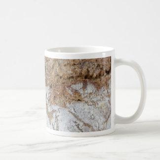 Taza De Café Foto macra de la superficie del pan marrón