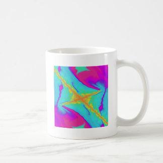 Taza De Café fractal insomne del saludo