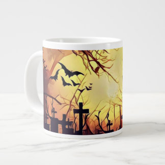 Taza de café frecuentada del cementerio