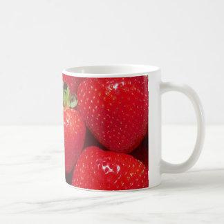 Taza De Café Fresas
