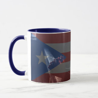 Taza de café fuerte de Puerto Rico