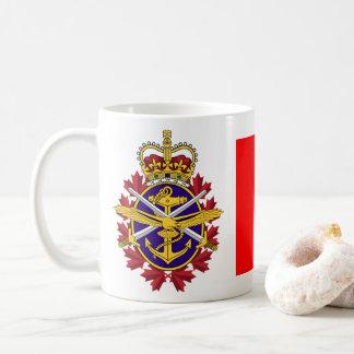 Taza De Café Fuerzas armadas de arma del canadiense