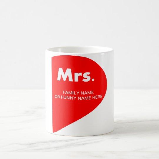 TAZA DE CAFÉ FUNNY MARRIAGE