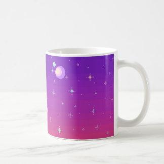 Taza De Café Galaxia de Pixelated