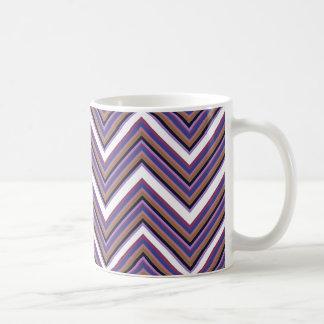 Taza De Café Galones púrpuras de la majestad