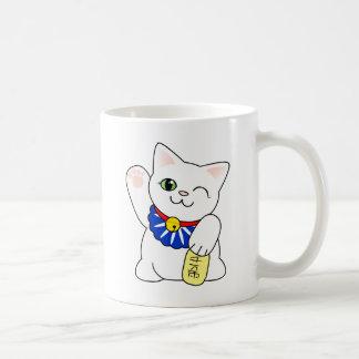 Taza De Café Gato afortunado de Maneki Neko
