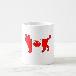 Taza De Café Gato de Canadá