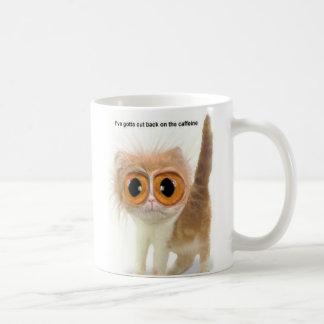 Taza De Café Gato del cafeína