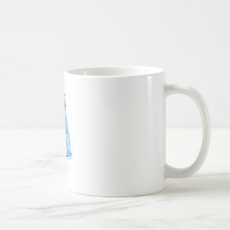 Taza De Café gato del jello del arándano de los fernandes tony