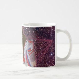 Taza De Café Gato en espacio