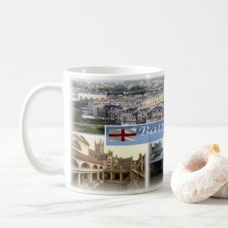 Taza De Café GB Inglaterra - baño Somerset -