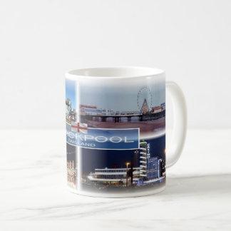Taza De Café GB Inglaterra - Blackpool -