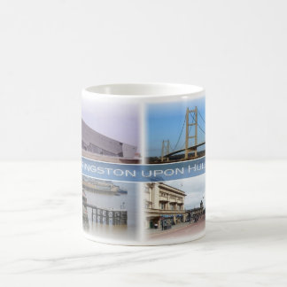 Taza De Café GB Inglaterra - Kingston sobre casco -