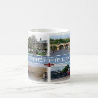 Taza De Café GB Inglaterra - Yorkshire Sheffield -