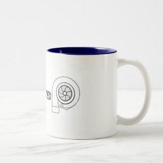 Taza de café gemela impulsada de Turbo