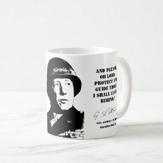 Taza De Café Gen. George Patton: El rezo del soldado