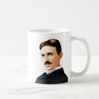 Taza De Café Genio eléctrico de Nikola Tesla