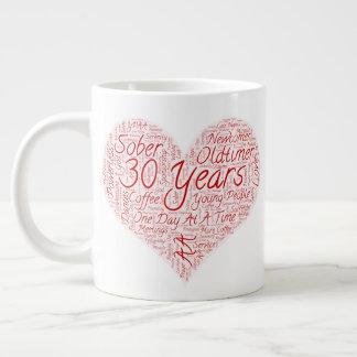 Taza De Café Gigante 30 años por la gracia de dios