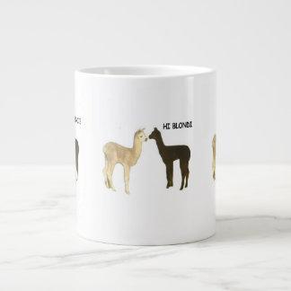 Taza De Café Gigante Alpaca Cria