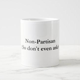 Taza De Café Gigante Anti-político chistoso