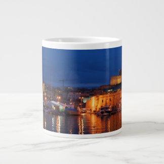 Taza De Café Gigante Asalte el puerto enorme de Marsella - de Le vieux