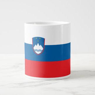 Taza De Café Gigante Bandera de Eslovenia