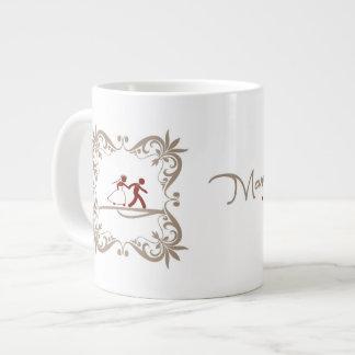 Taza De Café Gigante Casamento de Caneca para
