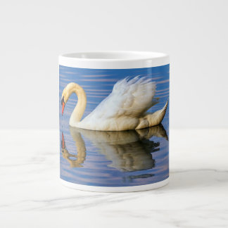 Taza De Café Gigante Cisne mudo, olor del cygnus