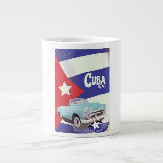 Taza De Café Gigante Cuba por el aire