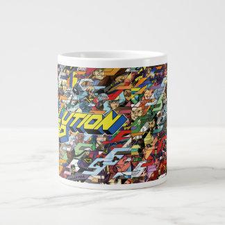 Taza De Café Gigante Diseño del Tessellation del pelotón de la solución