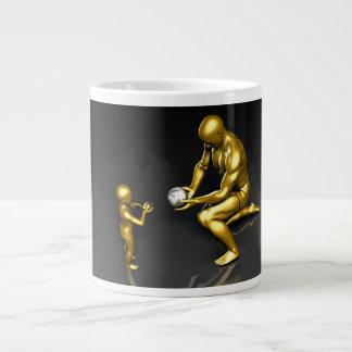 Taza De Café Gigante Inversión en nuestros líderes futuros del mundo