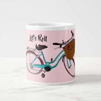 Taza De Café Gigante La bicicleta del vintage… nos dejó rodar