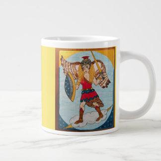 Taza De Café Gigante Minerva /Athena - diosa de la sabiduría