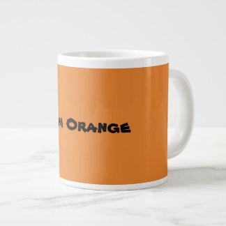 Taza De Café Gigante Naranja del equipo