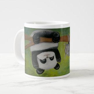 Taza De Café Gigante Panda con la ardilla de vuelo