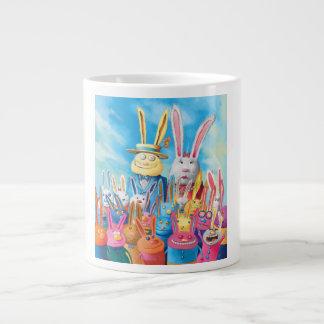Taza De Café Gigante Pascua feliz