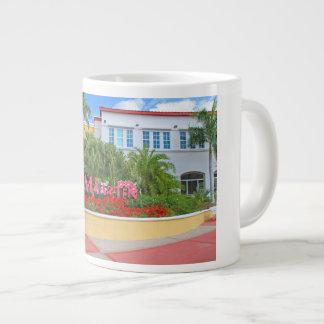 Taza De Café Gigante St. Maarten, signo positivo, fotografía, holandesa
