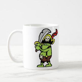 Taza De Café Gobbler del pirata del Doodle del mago 101
