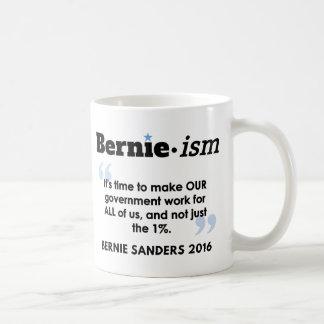 Taza De Café Gobierno de Bernie.ism para todos